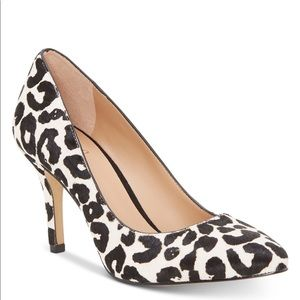 Animal print pumps